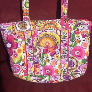 Vera Bradley Clementine Mandy Shoulder Tote Bag